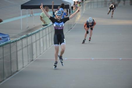 Corie Stoddard - Jr Women 10k Points Race -ODN 2016